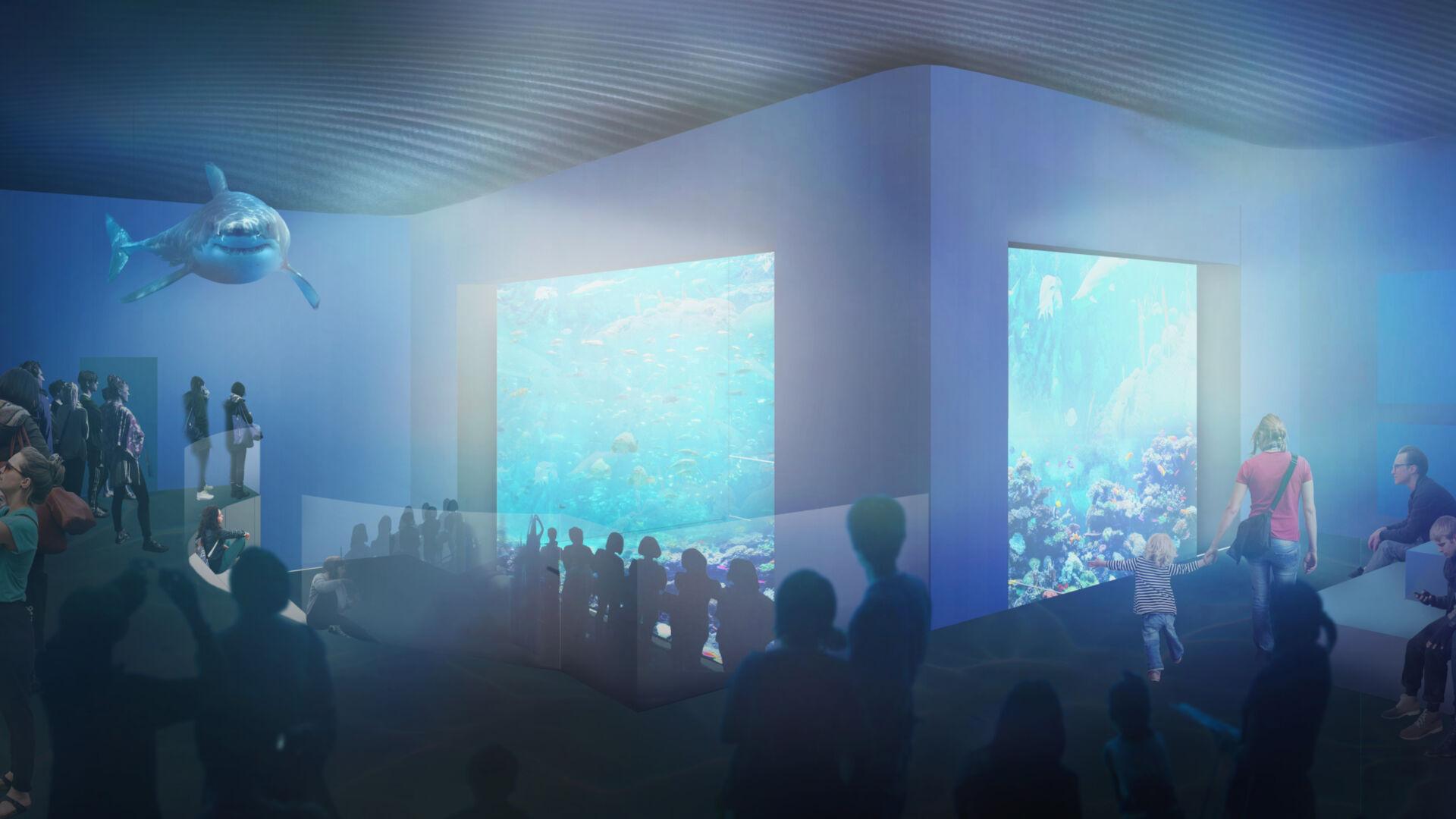 Det nya akvariet
